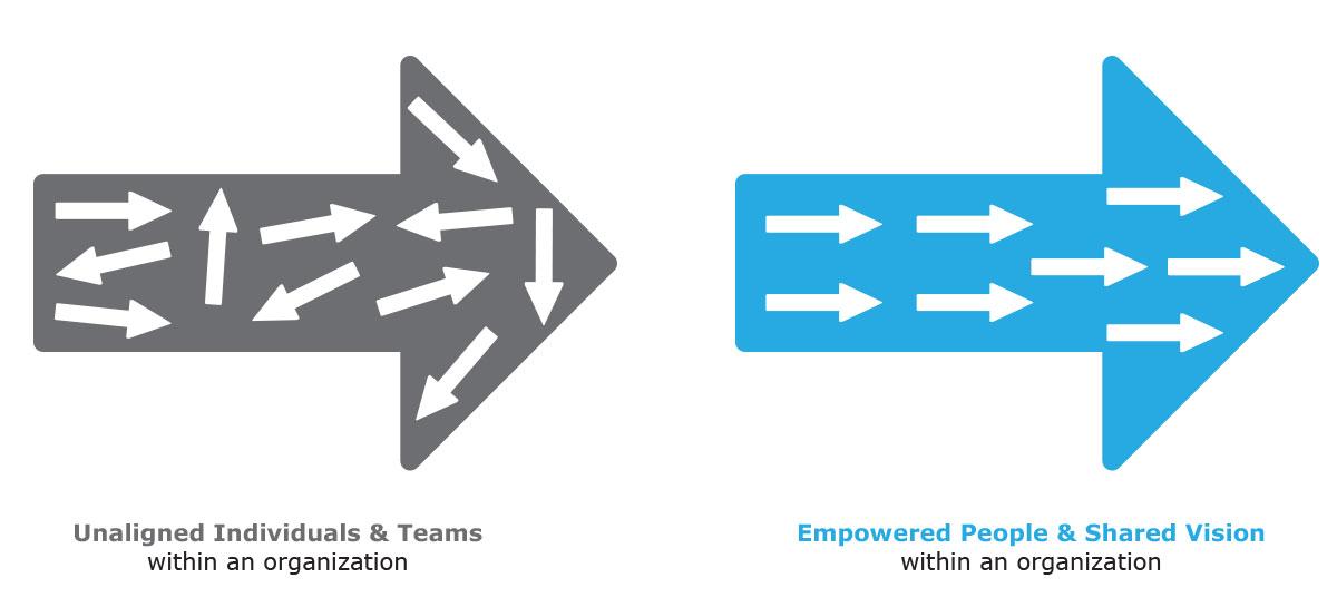 aligned organization