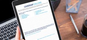 Leadership Challenge worksheet